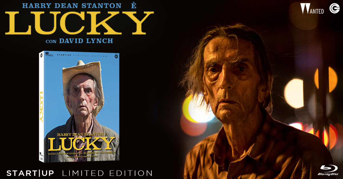 CG porta Lucky in Blu-ray Limited Edition
