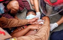 মিয়ানমারে গুলিবিদ্ধ হয়ে ২ বিক্ষোভকারী নিহত