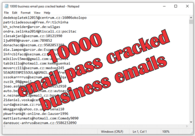 10000 business email pass cracked leaked