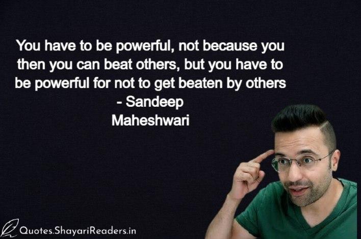 Sandeep Maheshwari Love Shayari