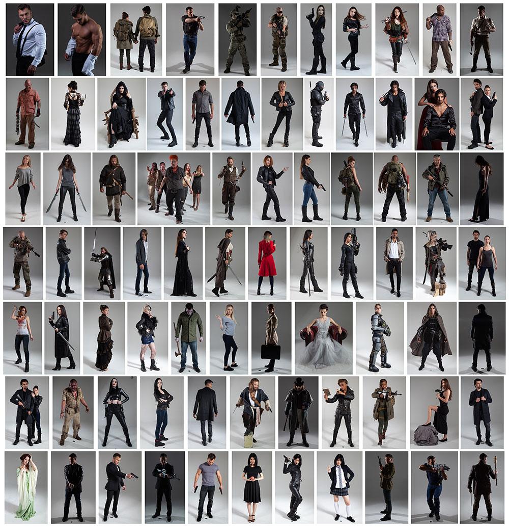 80 premium stock photos clinton lofthouse hollywood processing photoshop video training