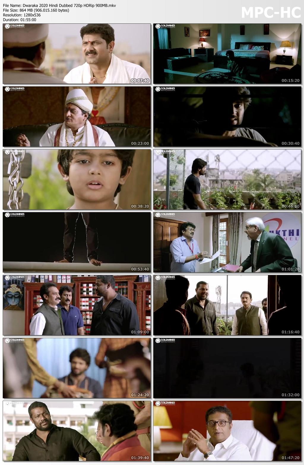 Dwaraka-2020-Hindi-Dubbed-720p-HDRip-900-MB-mkv-thumbs