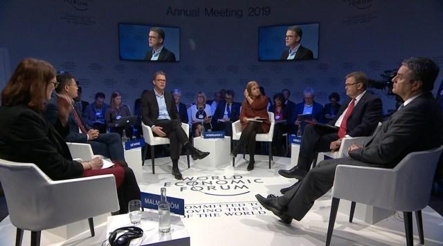 Davos, los poderosos y el clima
