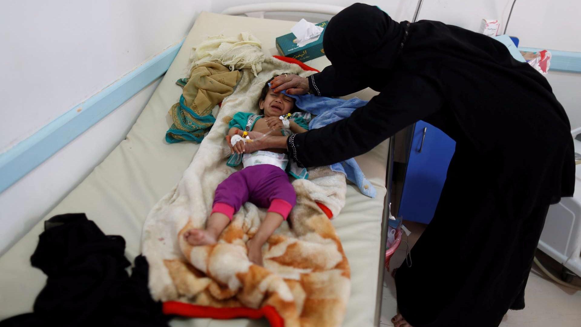Al menos 193 menores han muerto de cólera en Yemen en lo que va de año