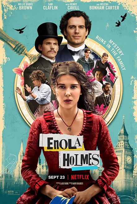 Enola Holmes 2020 Hindi ORG Dual Audio 720p NF HDRip ESubs 850MB DL