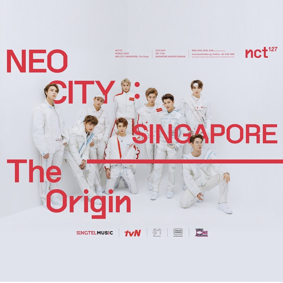 NCT 127 NEO CITY in Singapore