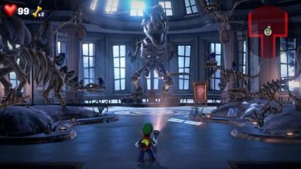 Luigi's mansion screen shot nintendo