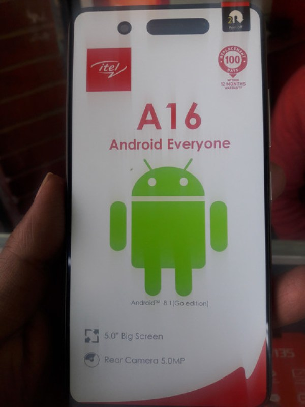 Itel A16 Flash File