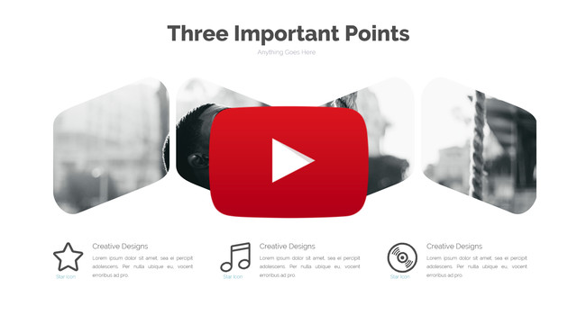 Popular Clean Powerpoint Template - 1