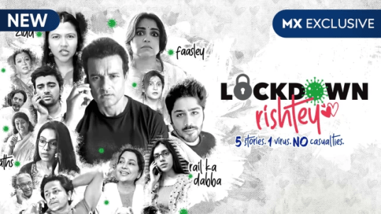 Lockdown Rishtey S01 2020 Hindi MX Original Web Series 720p HDRip 850MB | 400MB Download