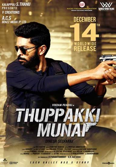 Thuppaki Munai (2019) Hindi Dubbed Full Movie HD 720p