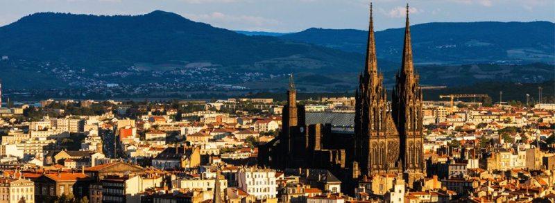 Vista panorámica de Clermont Ferrand