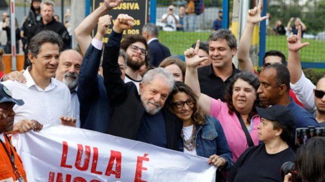 Lula da Silva sale de la cárcel tras el fallo del Supremo