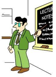 karikatur-dosen-mengajar