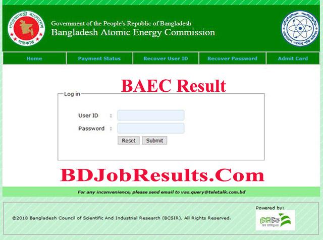 BAEC-Result
