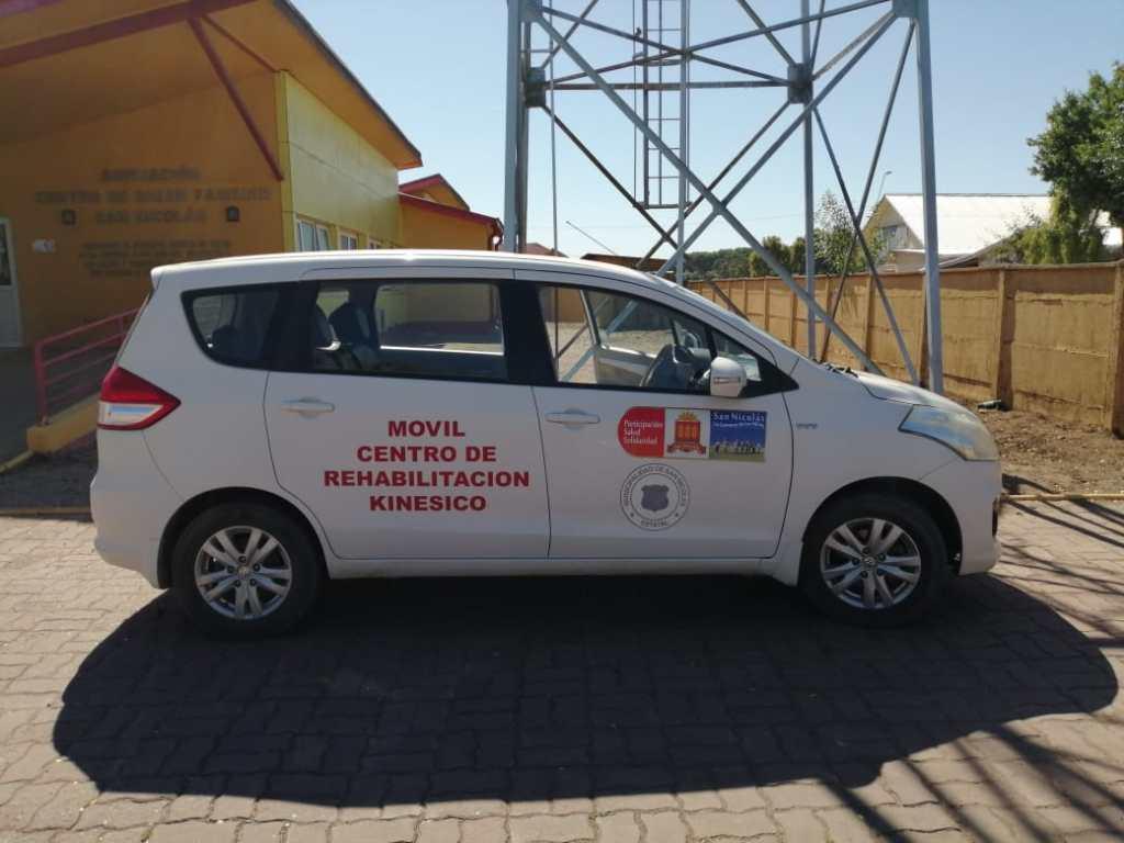 Personas de San Nicolás atendidas de urgencia en el hospital disponen de vehículo municipal para volver a sus casas
