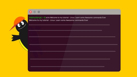 Linux: Learn Some Awesome Commands Ever 100% off udemy coupons