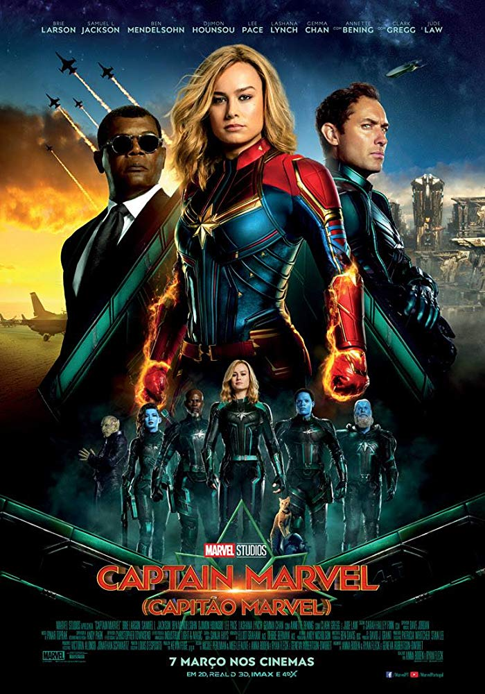 Captain Marvel 2019 Hindi Dubbed HDCam x264 AAC