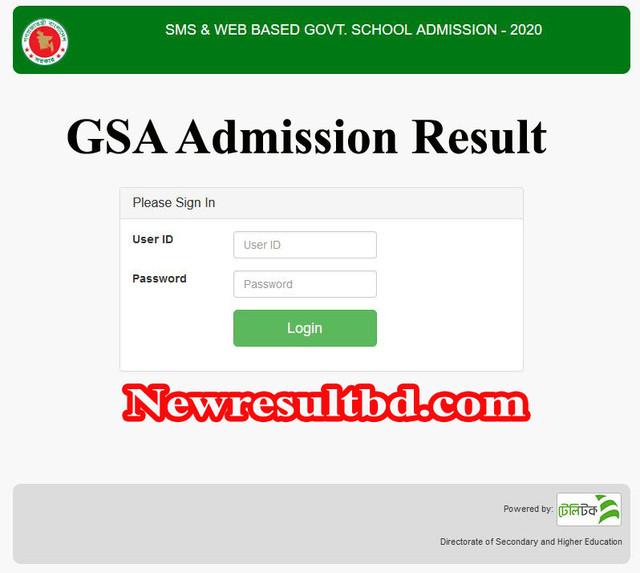 gsa result