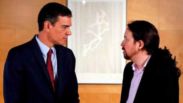 Pedro Sánchez rechaza una propuesta de Iglesias para un Gobierno de coalición con un periodo de prueba de un año