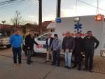 A través de programa APC. En San Nicolás inauguran ambulancia adquirida con apoyo de gobierno japonés.