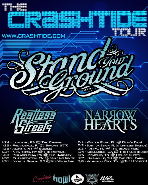 crashtide tour admat w dates