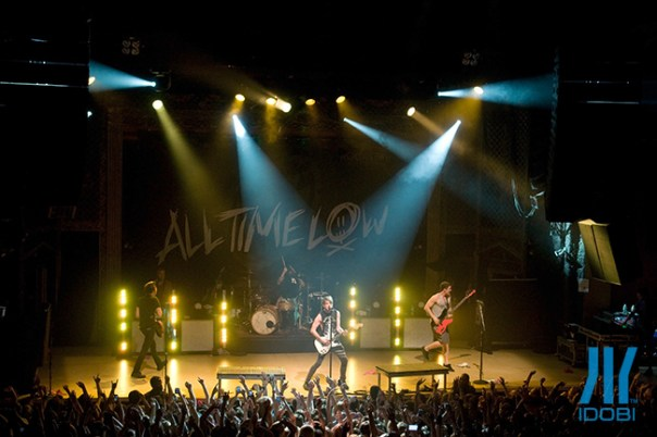 All Time Low, Man Overboard, Handguns in Denver, CO