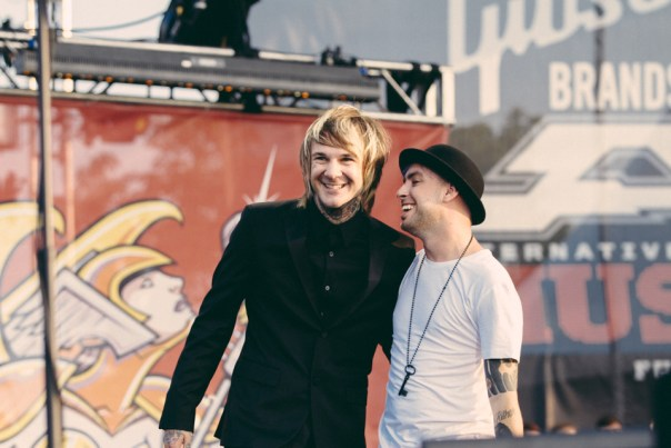 Craig Owens (Chiodos) and Tyler Carter (Issues)