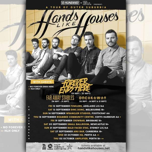 hands like houses tour