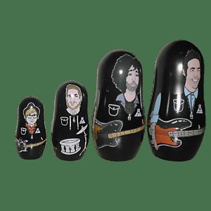 Fall Out Boy Nesting Dolls