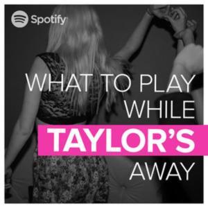 spotify taylor swift