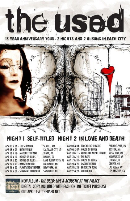 the used 15 year tour