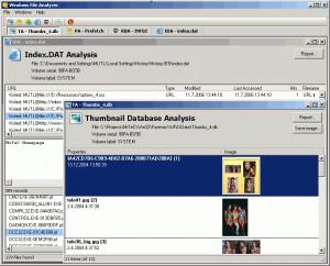 MiTeC Windows File Analyzer náhled pro download