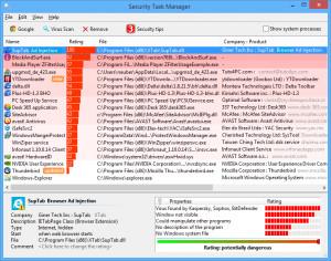 Security Task Manager náhled pro download