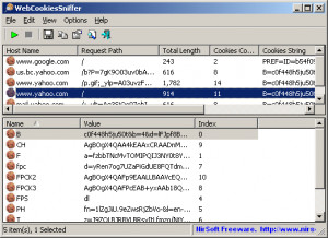 WebCookiesSniffer náhled pro download