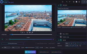 Ashampoo Video Tilt Shift náhled pro download