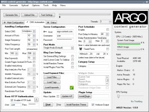 ARGO Content Generator náhled pro download