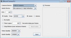 jfRecordCamera náhled pro download
