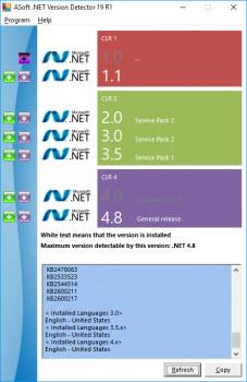 .NET Version Detector náhled pro download