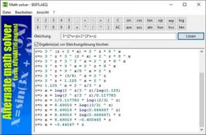 Alternate Math Solver náhled pro download