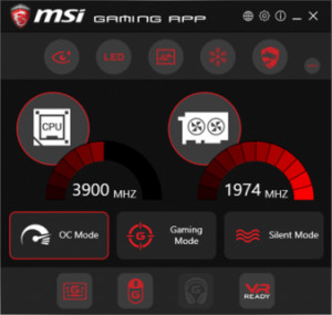 MSI Gaming App náhled pro download