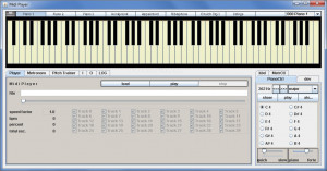 Midi Player Tool náhled pro download