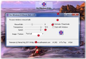 4ur Windows 8 Mouse Balls náhled pro download