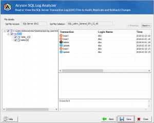 Aryson SQL Log Analyzer Tool náhled pro download