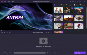 AnyMP4 Video Editor náhled pro download