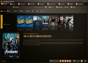 Cool Movie Browser náhled pro download