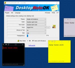 DesktopNoteOK náhled pro download