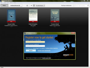 Kindle for PC náhled pro download