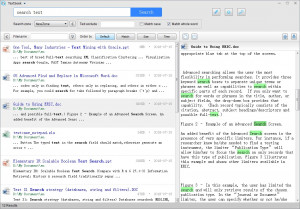 TextSeek náhled pro download