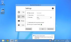 Big Stretch Reminder náhled pro download